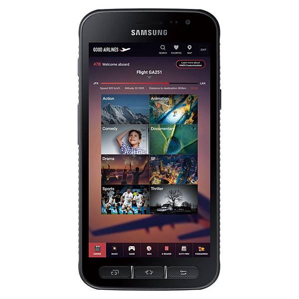 [新聞稿]三星為企業用戶推出軍規級三防手機Galaxy XCover 4