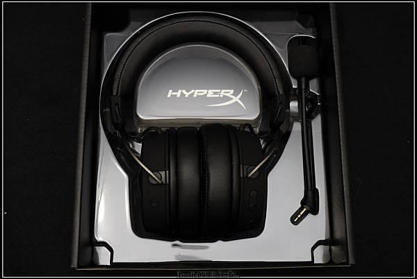 Kingston HYPER X cloud mix電競耳機開箱測試分享(可有線/藍牙無線 , 耳麥可拆)