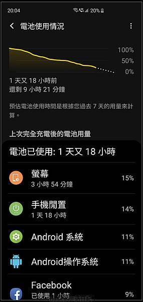 來談談Galaxy S10系列的一些省電設置..(其它android手機也適用) - 5