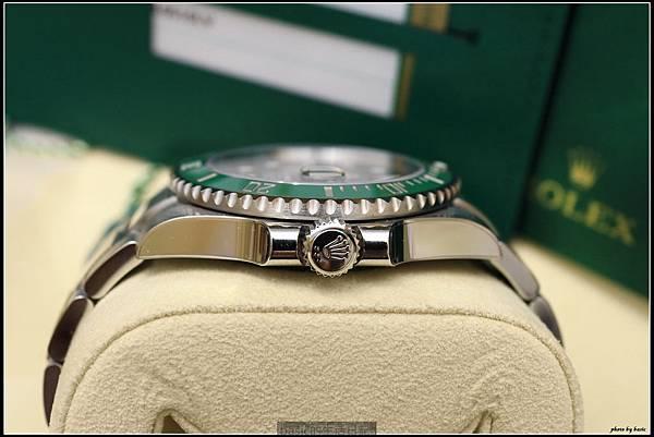 綠綠開箱分享-ROLEX 116610LV綠水鬼 - 11
