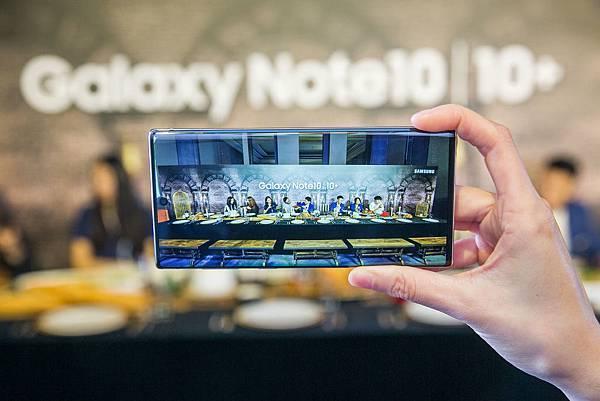 Galaxy Note10系列搭載123度超廣角鏡頭