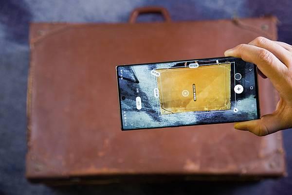 Galaxy Note10+搭載VGA ToF景深相機可支援3D快速測量