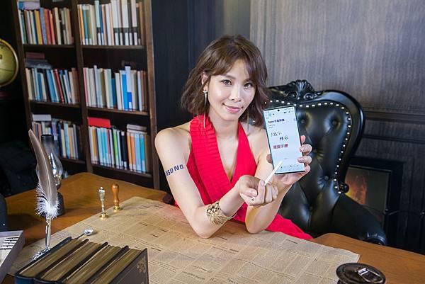 Galaxy Note10系列支援S Pen手寫辨識
