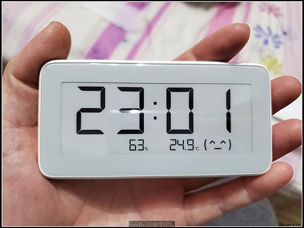 小米電子紙藍牙溫濕度計開箱使用分享