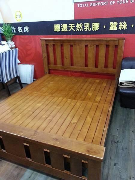 柚木家具實木床台彰化最便宜的實木家具