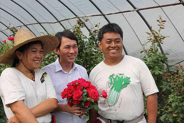 麵包冠軍師傅吳寶春就是用章思廣農場的玫瑰花