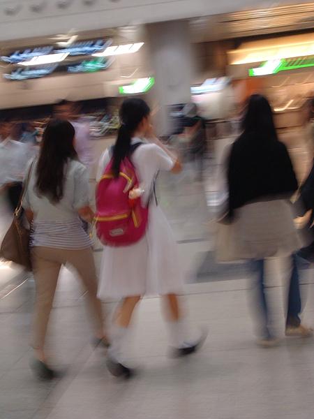 香港女學生