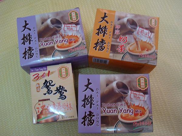 大排擋鴛鴦奶茶