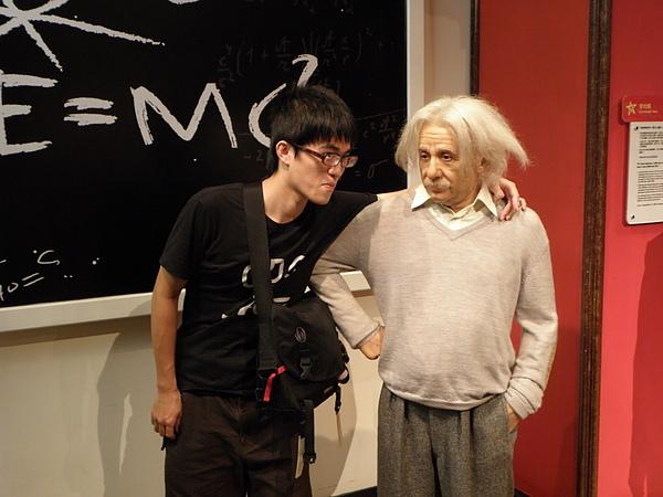 愛因斯坦很可愛