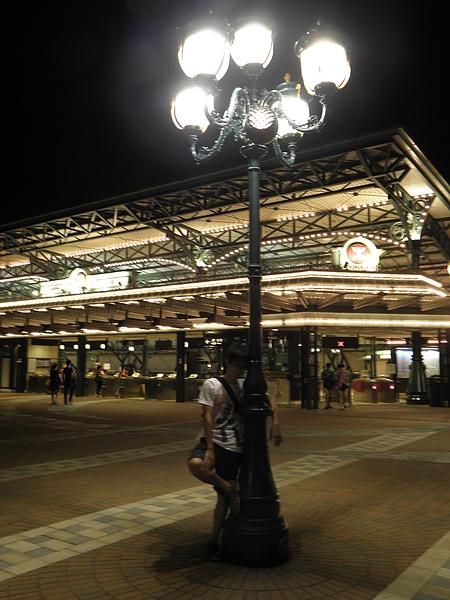 晚上車站很漂亮