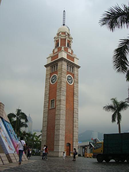 舊火車站的鐘樓