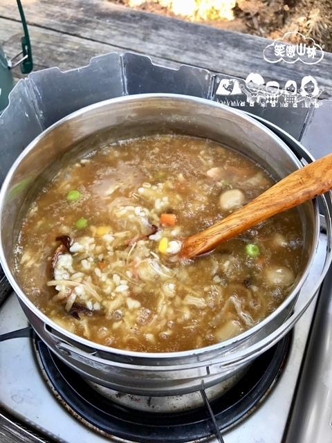 早 干貝海鮮羹粥 (2)