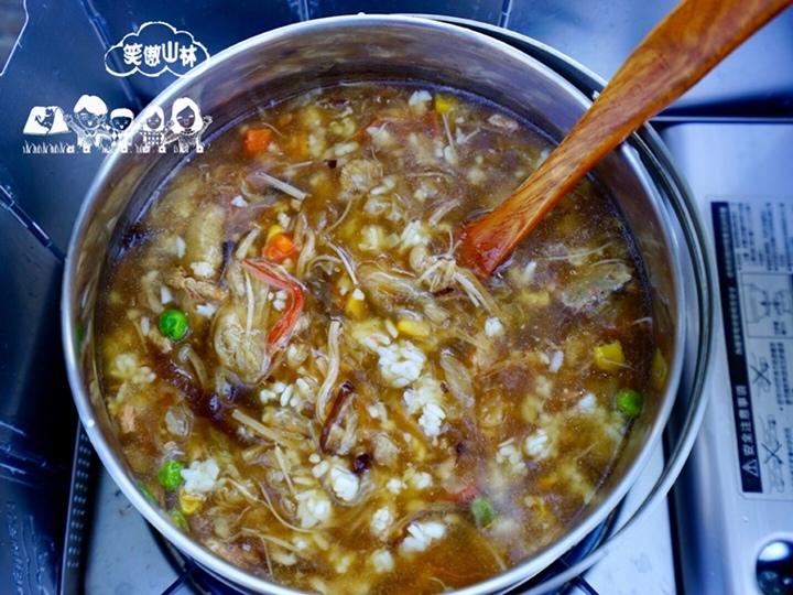 早 干貝海鮮羹粥 (1)