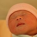 剛出生的第六個鐘頭