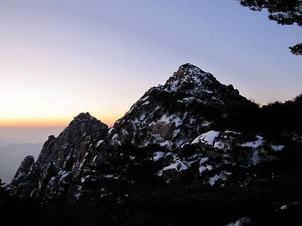 黃山,日出2