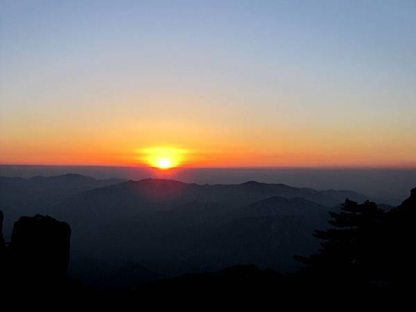 黃山,日出3