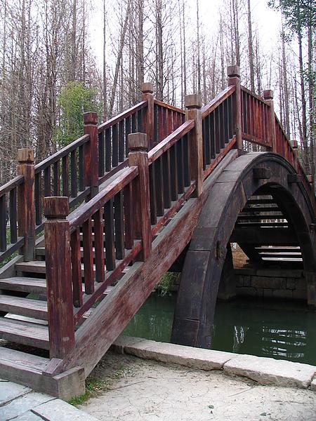 烏鎮,東柵入口處木橋