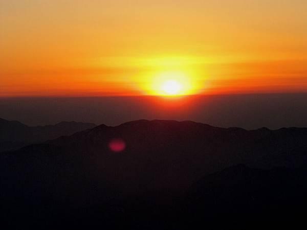 黃山,日出5