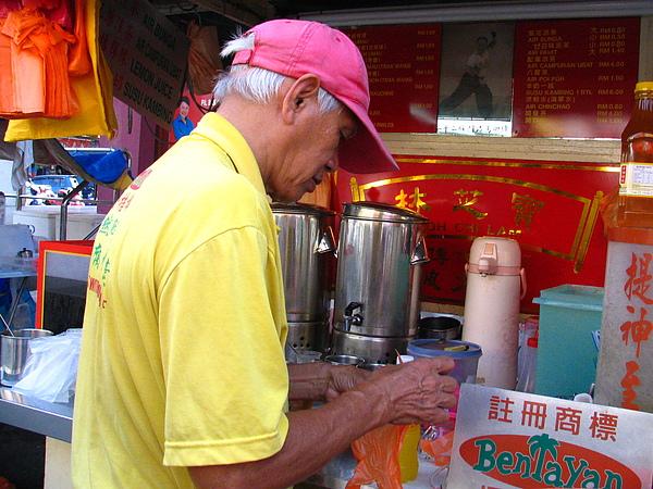 街邊苦茶攤子
