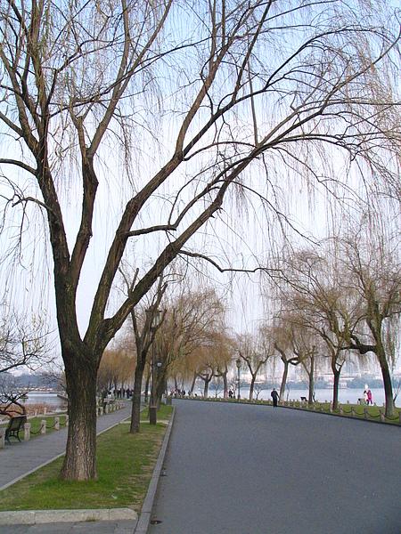 西湖,白堤斷橋
