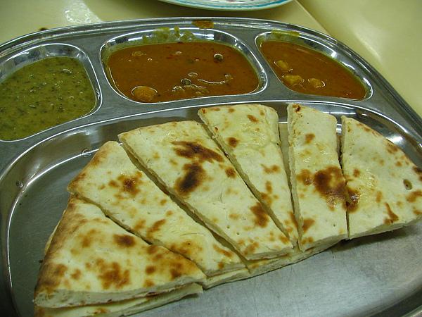 印度煎餅,咖哩口味