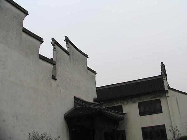 烏鎮,蘇杭風格牆景
