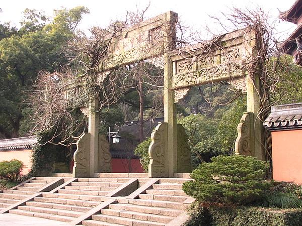 杭州,六和塔山門