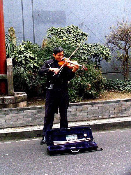 寧波,城隍廟,街邊的藝術
