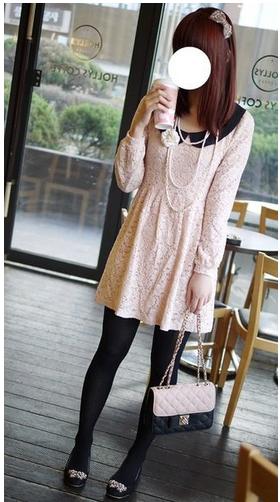 【R37】韓 高單價復古圓領雕花蕾絲洋裝.jpg
