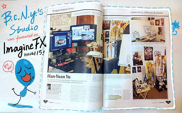 ImagineFX magazine Issue115