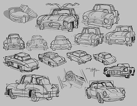 Cars study