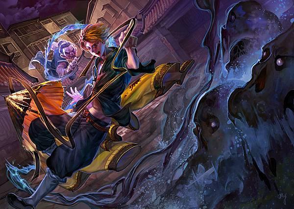 春天出版 《驅魔教師01:一零八傳奇》