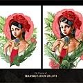 Transmutation of Love_process