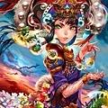 ImagineFX 107 封面- 眾龍之女神