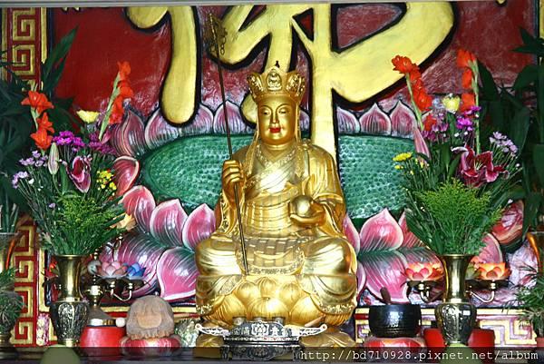 蘇澳港城隍廟地藏王菩薩聖像