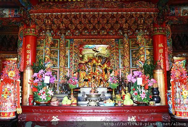蘇澳港城隍廟正殿,主祀:城隍爺