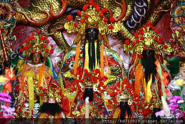 蘇澳港城隍廟城隍爺聖像