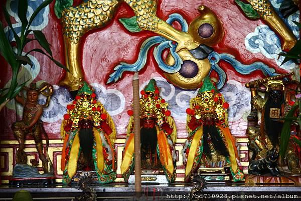 蘇澳港城隍廟關聖帝君聖像