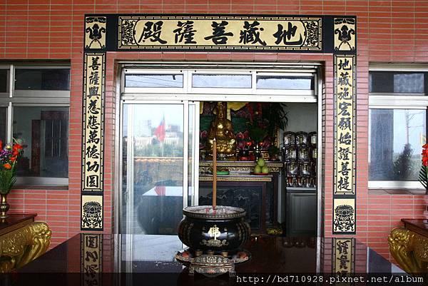 位於城隍廟虎側的地藏王菩薩殿
