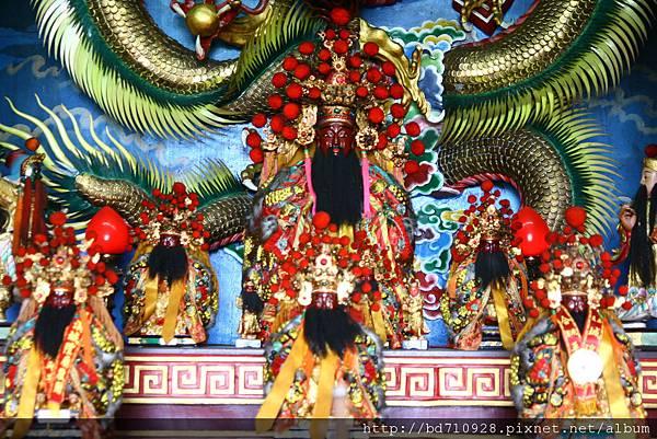 蘇澳城隍廟城隍爺康大人聖像