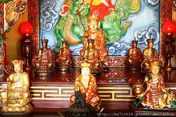 蘇澳城隍廟地藏王菩薩聖像