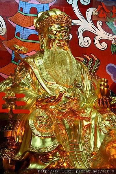 四結福德廟後殿金身土地公聖像