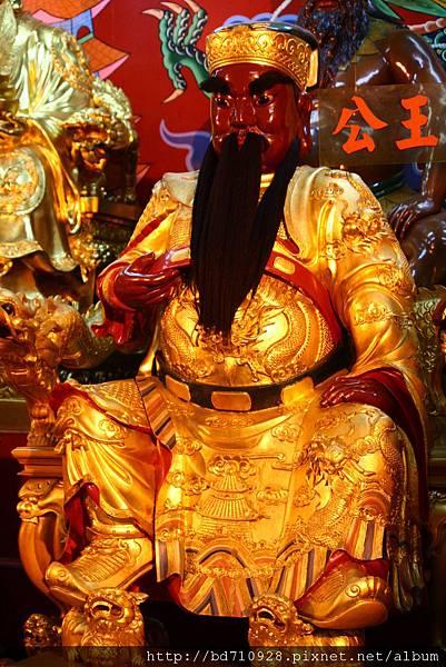 四結福德廟後殿二王公聖像