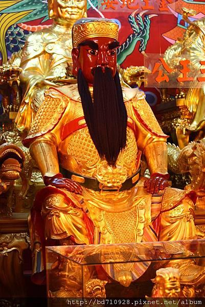 四結福德廟後殿三王公聖像
