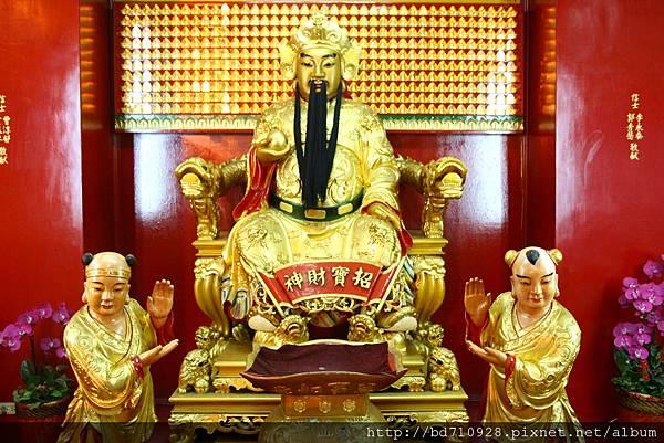 四結福德廟後殿東路財神聖像