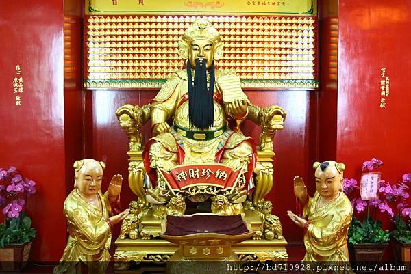四結福德廟後殿西路財神聖像