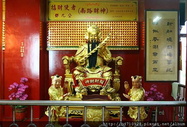 四結福德廟後殿南路財神聖像