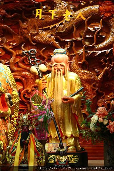 四結福德廟後殿二樓月下老人聖像