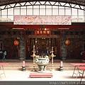 淡水坪頂集應廟廟內貌