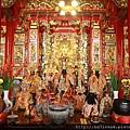 淡水坪頂集應廟正殿列位神佛聖像